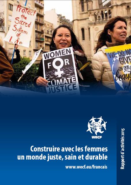 Rapport d'activité 2015_WECF France_couverture