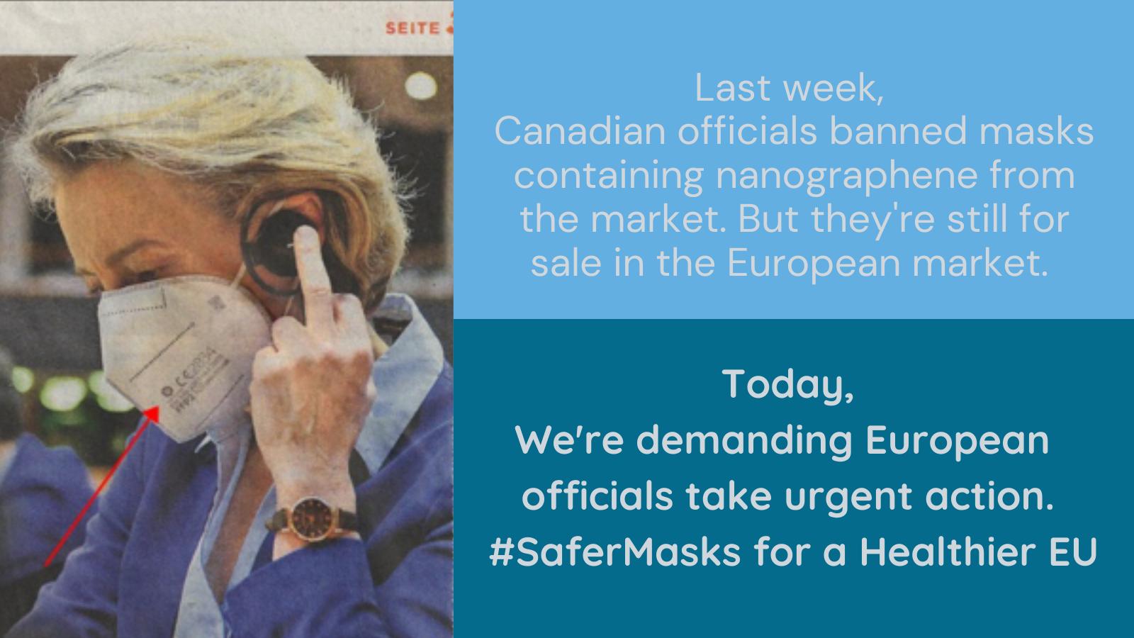 Des ONG demandent l'interdiction de masques contenant des nanoparticules toxiques