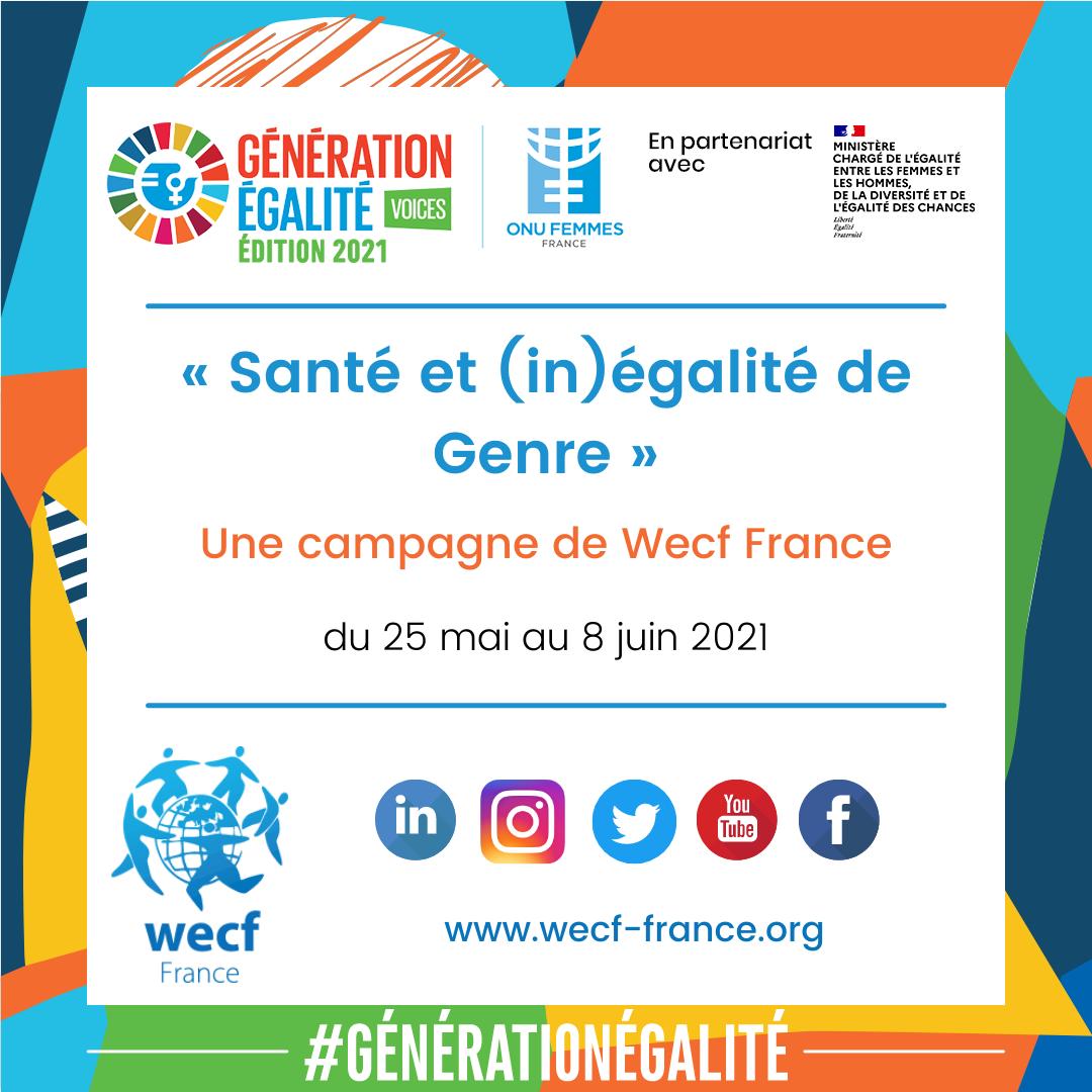 Campagne « (In)égalité de genre et Santé » visuel 1
