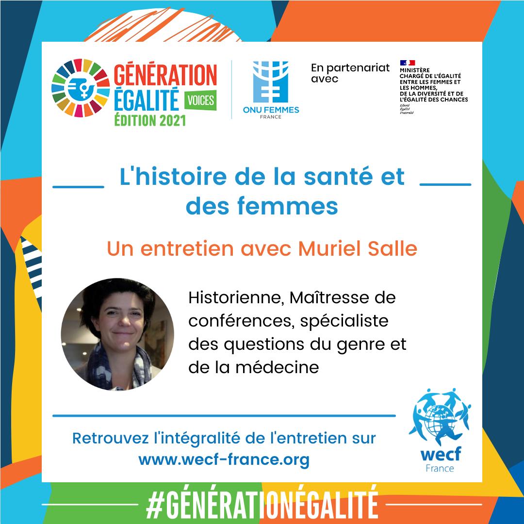 Campagne genre et santé_entretien avec Muriel Salle