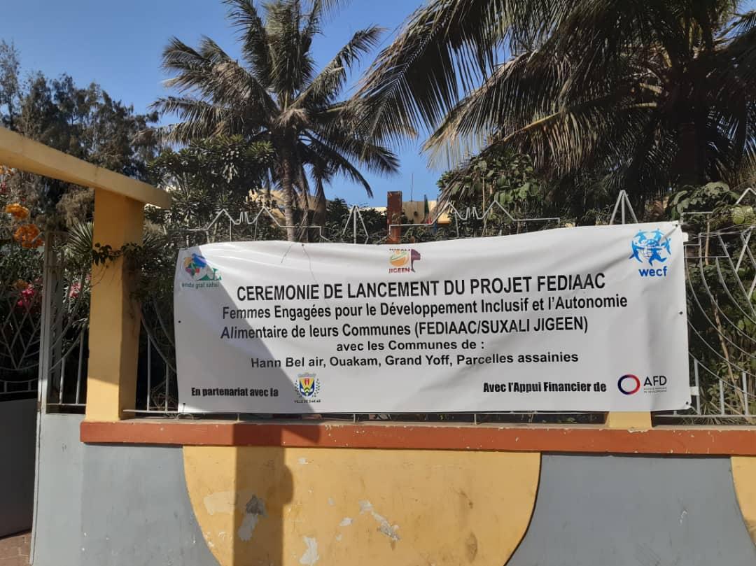 Lancement du projet FEDIAAC à Dakar