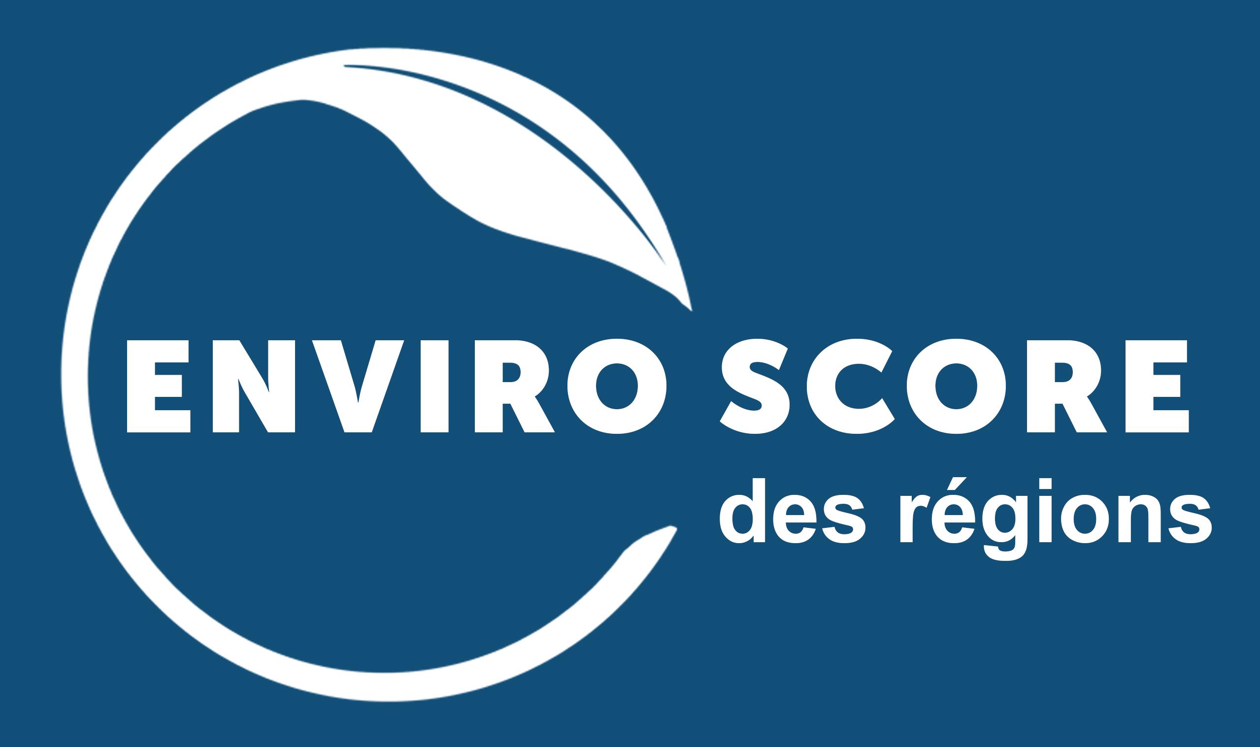 Lancement de l'EnviroScore des régions