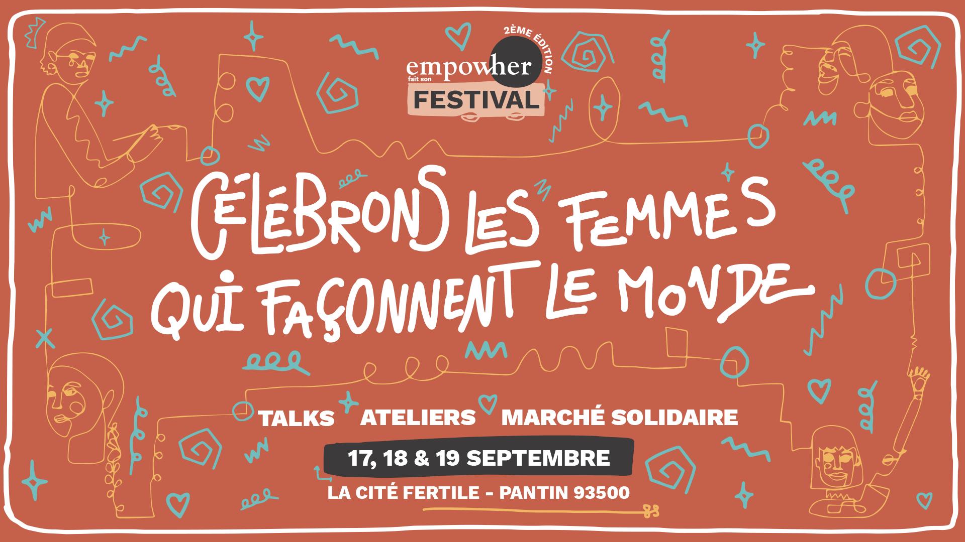 Les femmes au premier plan du changement climatique – Wecf France au Festival Empow'Her